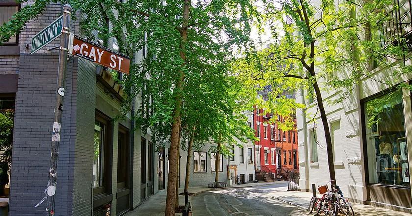 Greenwich Village - Gay Street l © Jean-Christophe Benoist