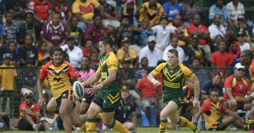 Papua New Guinea vs Australia   © Department of Foreign Affairs and Trade / Flickr