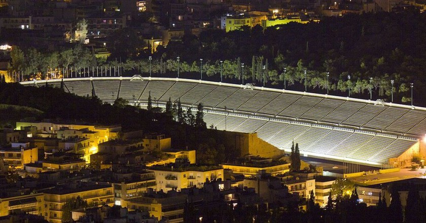 The Panathenaic Stadium in Athens, where the first modern Olympic Games were held in 1896 |© Christos Doudoulakis/WikiCommons