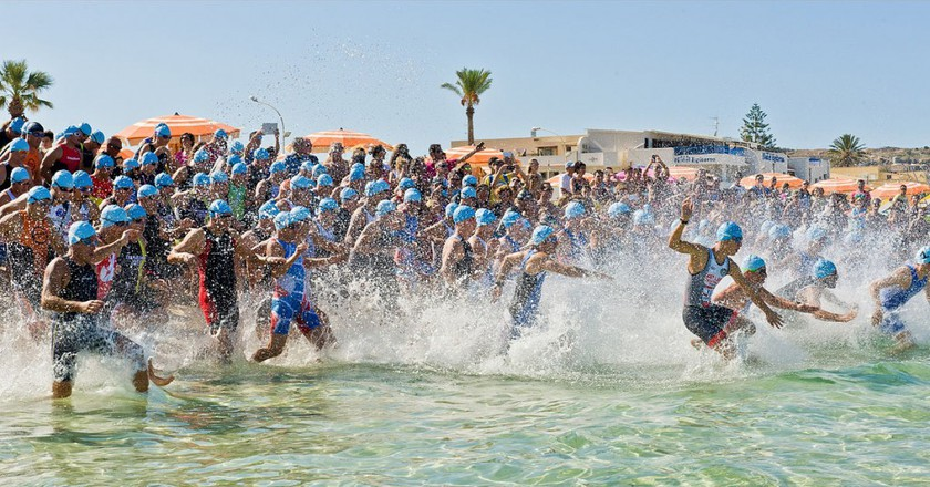 The Best Places To Watch The Barcelona Triathlon