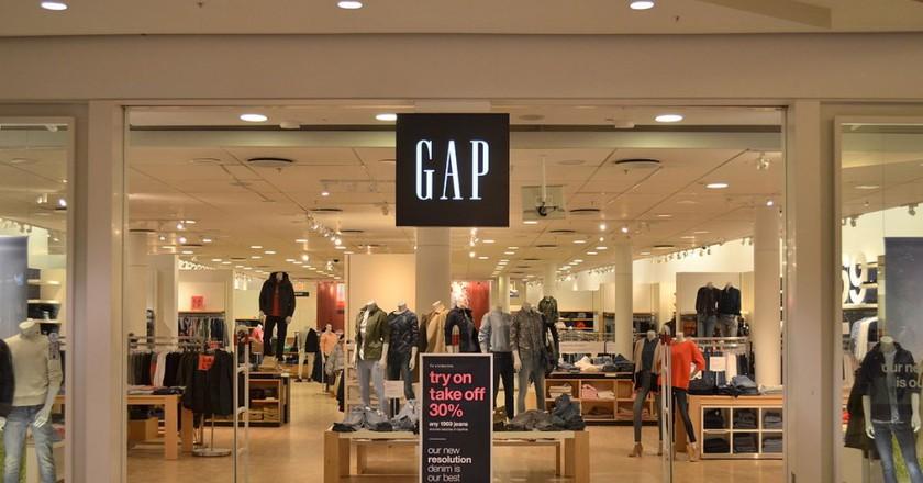 Gap   © Raysonho/Wikicommons
