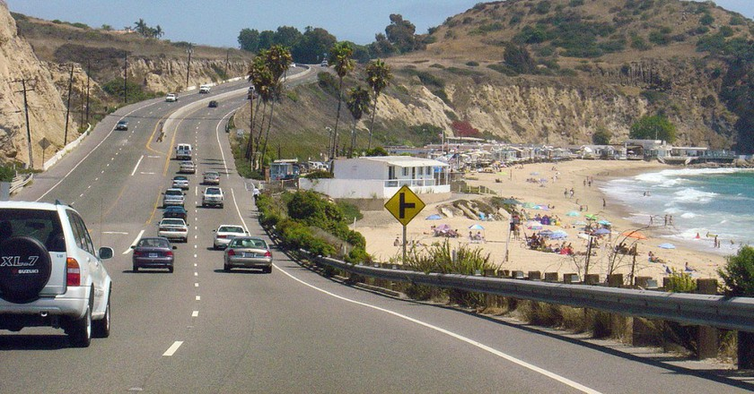 PCH near Laguna Beach/Wikimedia Commons