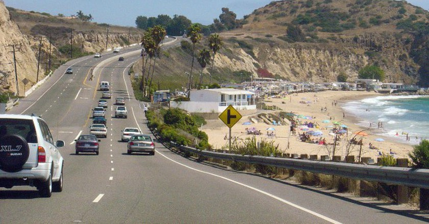 PCH near Laguna Beach/Wikimedia Commons