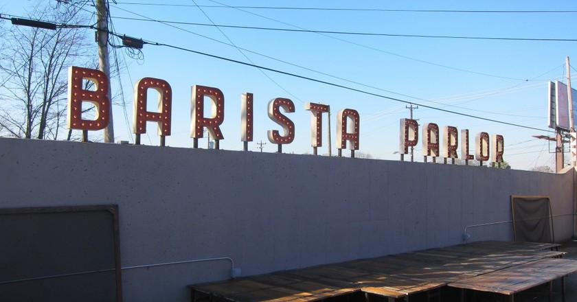 © Barista Parlor Sign, Daniel Zemans/Flickr