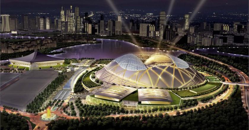 Singapore Sports Hub | ©  Gyver Chang