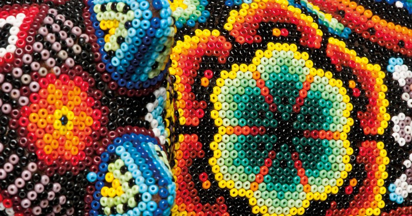 Huichol Beading (cropped) | © PRECIOSA ORNELA/Flickr