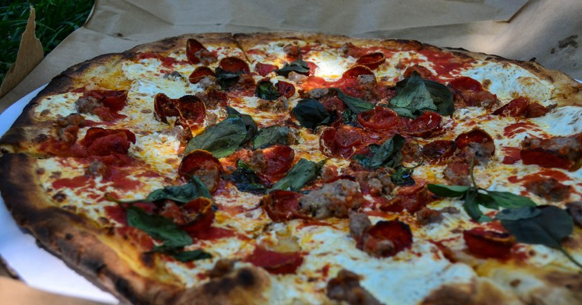 Grimaldi's Pizza, Brooklyn NY | © m01229/Flickr