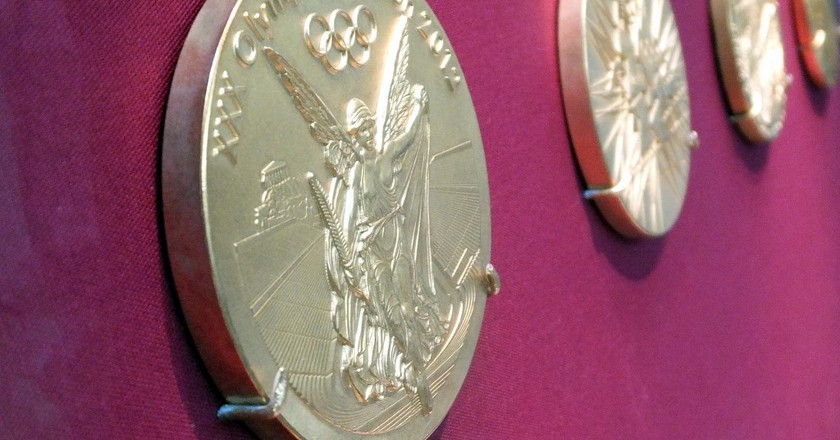 London 2012 Olympic Games Gold Medals |© James Cridland/Flickr