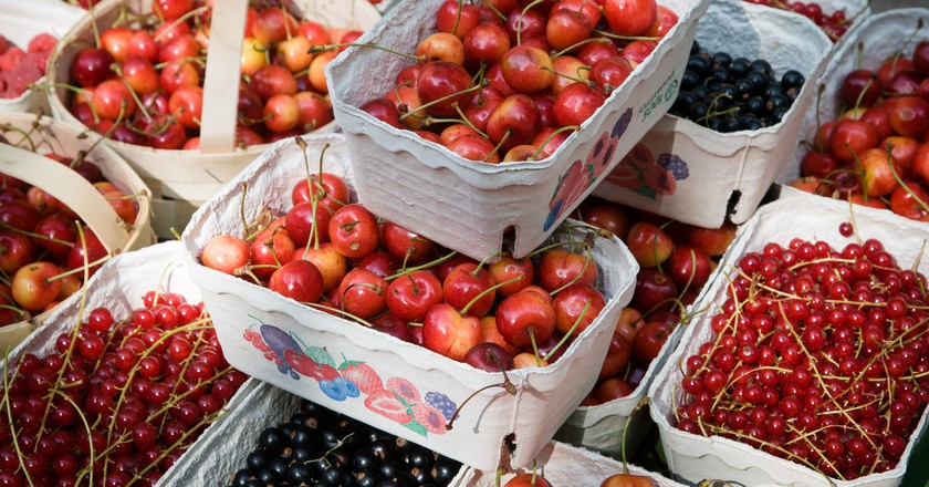 Berries at Kollwtizplatz Market | © abbilder/Flickr