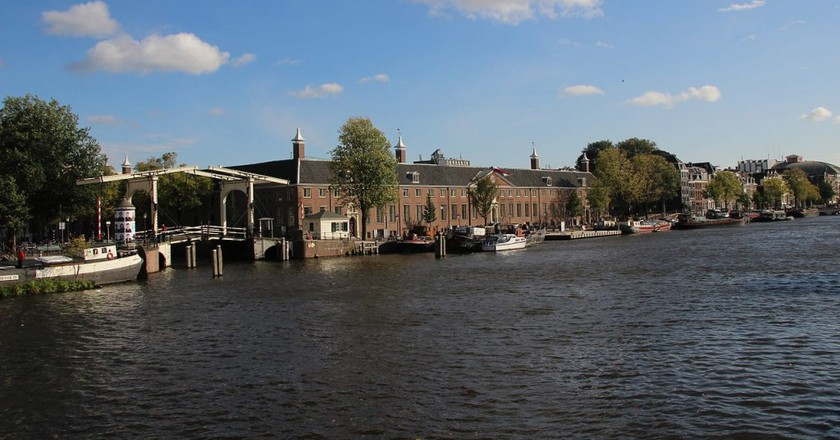 The Hermitage from the river Amstel   © A.A.W.J. Reitman / Wikicommons
