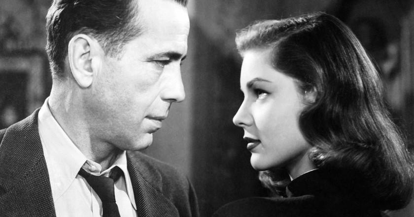 Bogart and Bacall in The Big Sleep | © Warner Bros