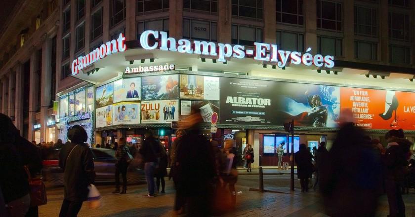 Cinéma Gaumont Champs-Élysées © Frédéric BISSON/WikiCommons