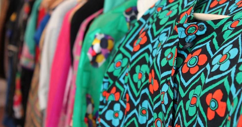 Colorful rails at Rose Market Vintage │ Courtesy of Rose Market Vintage