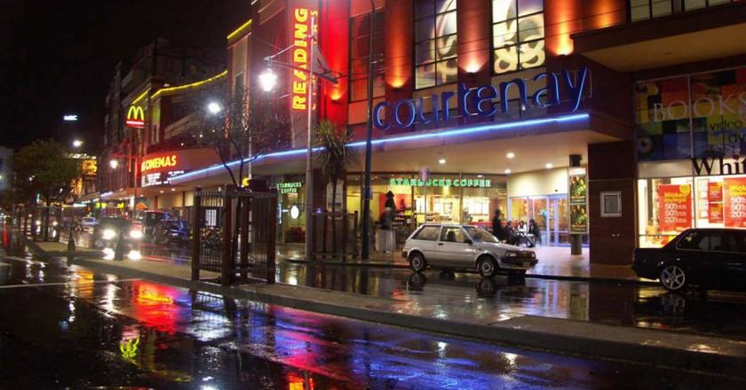 Courtenay Place, Wellington