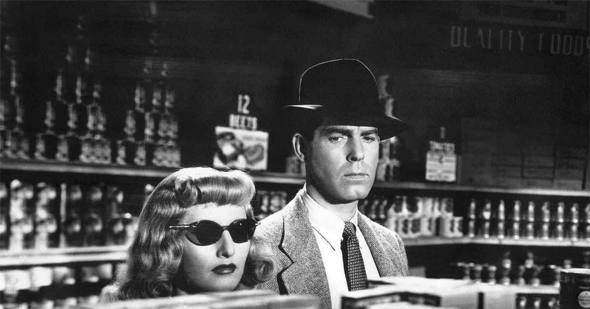 Fred MacMurray and Barbara Stanwyck in Double Indemnity   © Paramount Pictures
