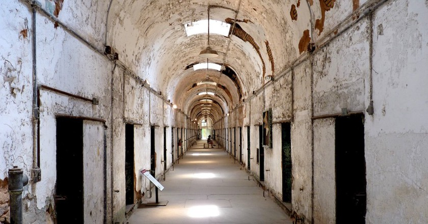 Eastern State Penitentiary, Cell blocks   © Dudva/Wikicommons