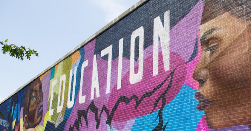 Mural By Brooklyn artist Elle   © Not A Crime Campaign