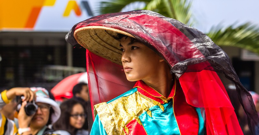 2015 Chinese New Year Fashion Show, Sudirman Street, Yogyakarta