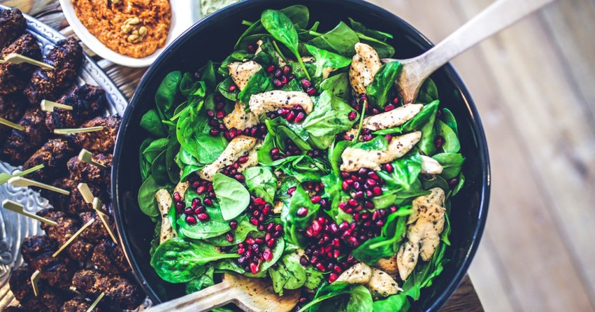 Top spots for a healthy lunch in Casablanca