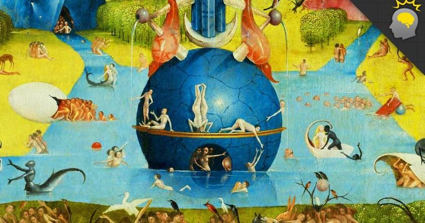 'The Garden of Earthly Delights', c. 1503, central panel detail, Museo Nacional del Prado, Madrid.