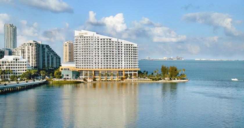 The Mandarin Oriental, Brickell, Miami | Wikipedia Commons