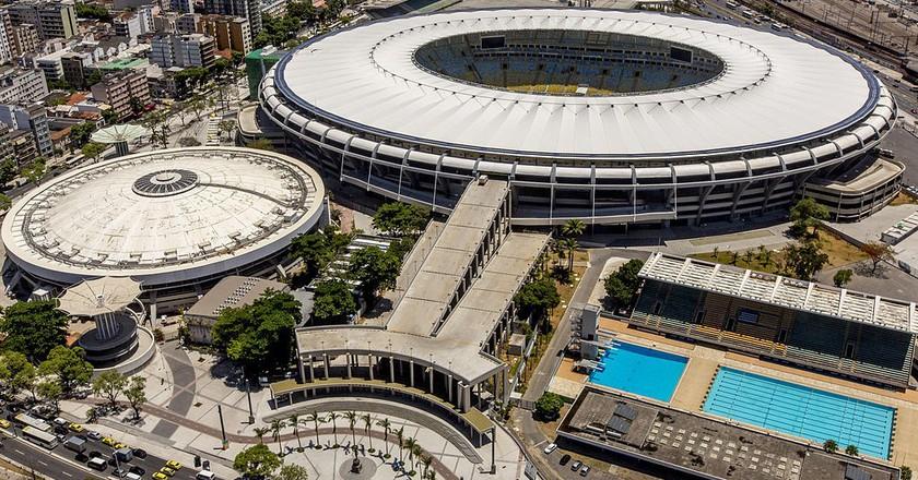 Maracanã, one of the main stadiums at this year's Olympics |© RobSabino/WikiCommons