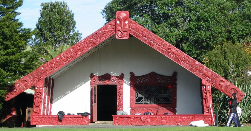 Waipapa marae at The University of Auckland | ©WikiCommons