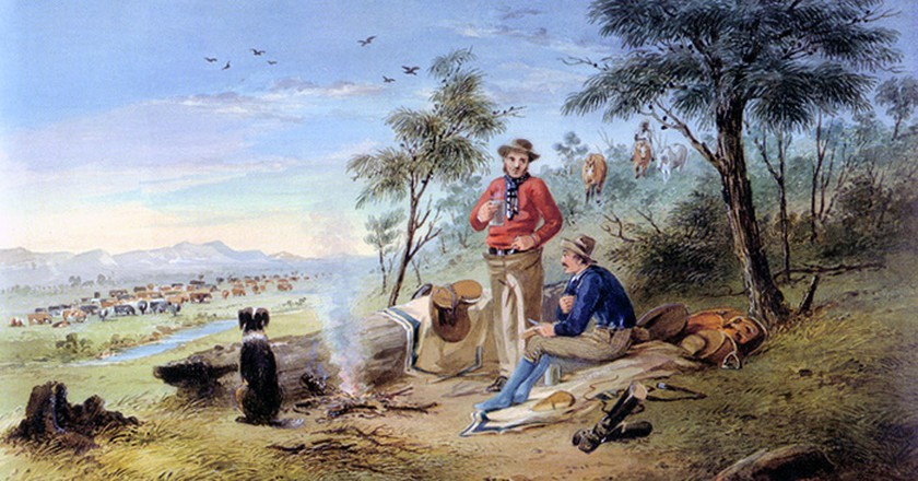 Morning by S.T. Gill (1818-1880)   © S.T. Gill/WikiCommons