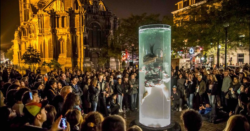 The most curious sights will take over Brussels' streets during Nuit Blanche | © Eric Danhier, courtesy of Nuit Blanche