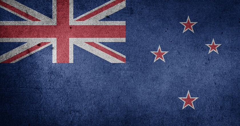 The current New Zealand flag   ©WikiCommons