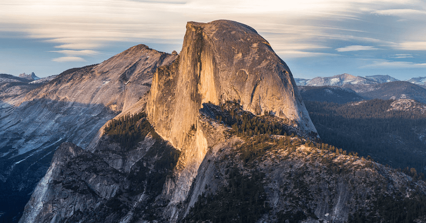 Half Dome as viewed from Glacier Point, Yosemite National Park, California, United States | © Diliff/Flickr