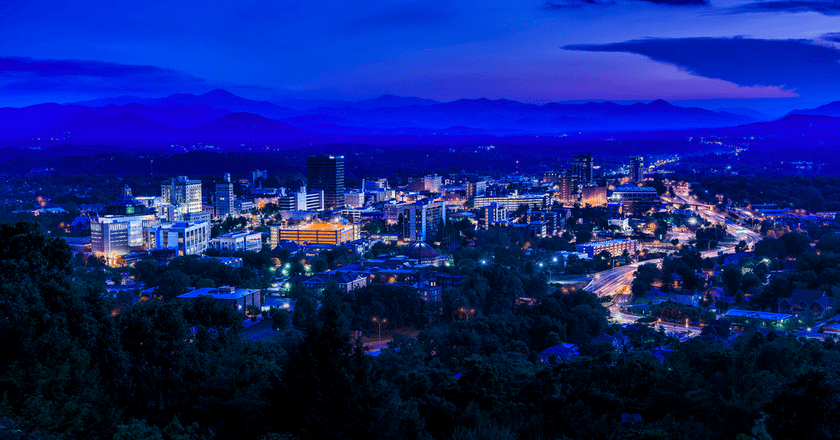 City of Asheville, North Carolina | © Ken Lane/Flickr