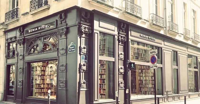 Sonia Rykiel store Saint-Germain │ Courtesy of Paul McQueen