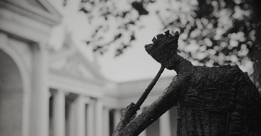 Thomas Davis Statue and Bank of Ireland, College Green   © Rob Hurson/WikiCommons