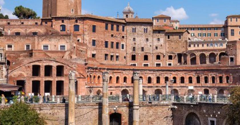 Trajan's Market   ©Flickr/Stefano Lovato