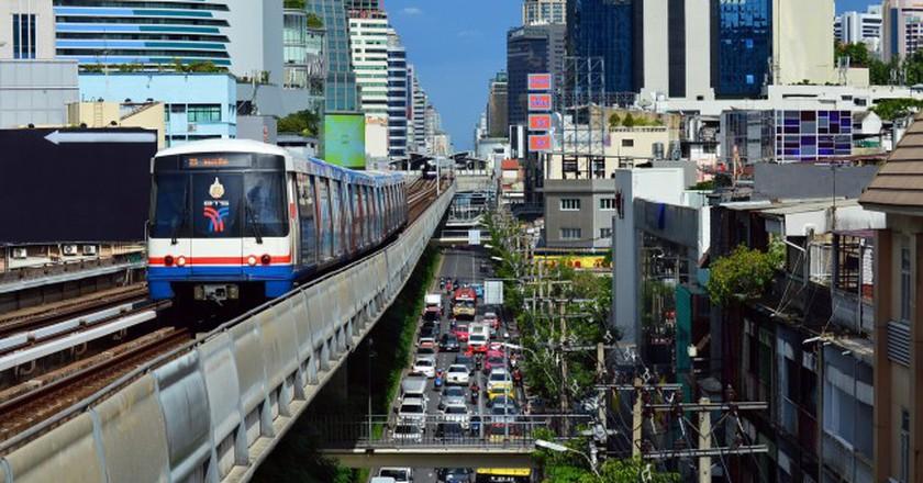 Downtown Bangkok/Courtesy of Pixabay