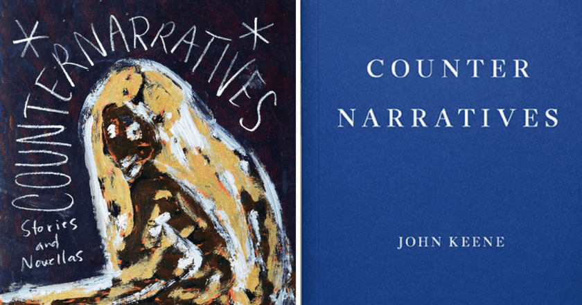 The US and UK covers of John Keene's Counternarratives | Courtesy of New Directions Publishing and Fitzcarraldo Editons, respectively