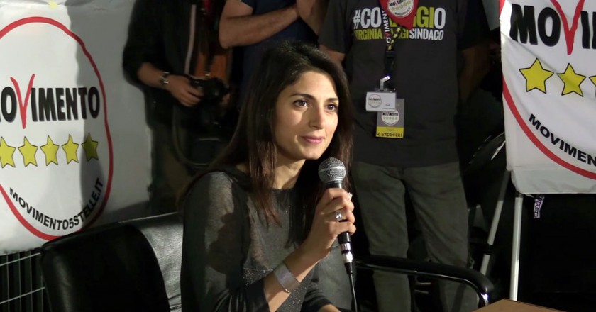 Virginia Raggi | © WikiCommons