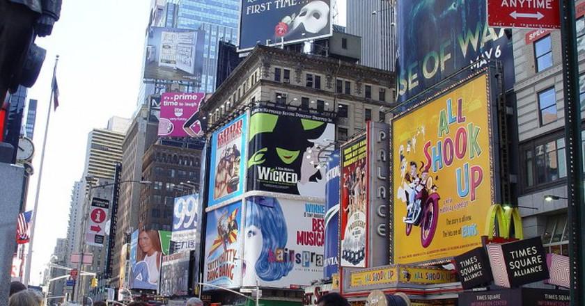 Broadway, New York City | © Wikipedia Commons