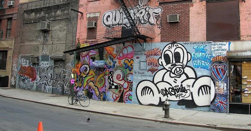 Graffiti Lower East Side |© Acharles/WikiCommons