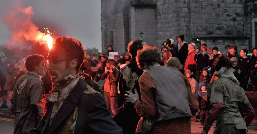 Macnas Halloween Parade, Galway, 2013 | ©young shanahan/Flickr