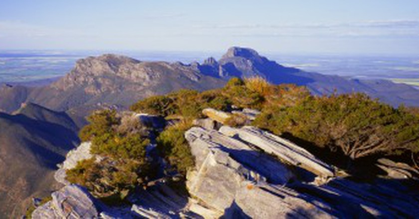 The view from Bluff Knoll, the highest peak in the Stirling Range National Park | Courtesy of Tourism Western Australia