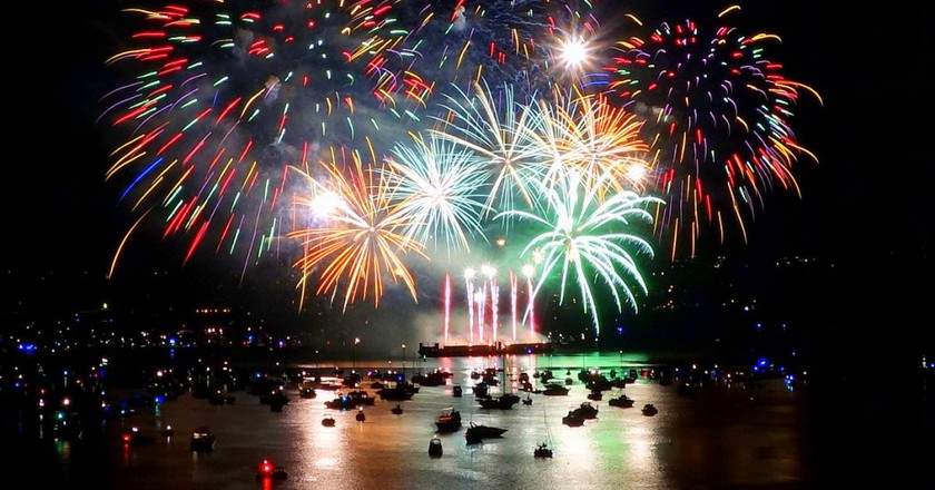 Fireworks © Stefan Ritt/Wikipedia
