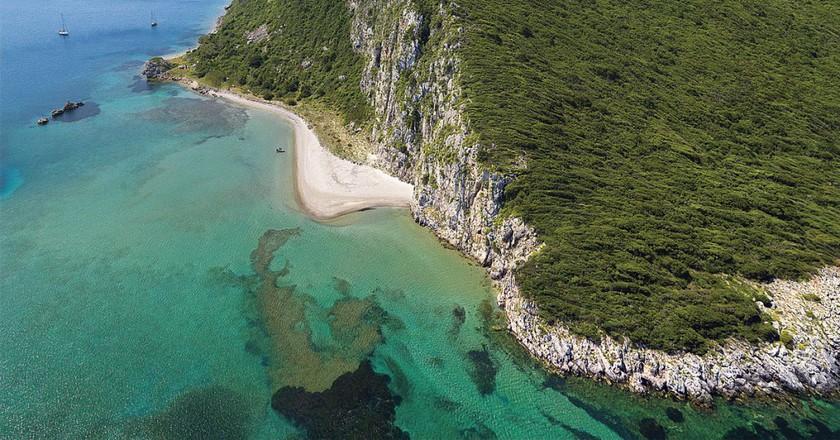 Glossa Beach, Messinia | © Grzontan/WikiCommons