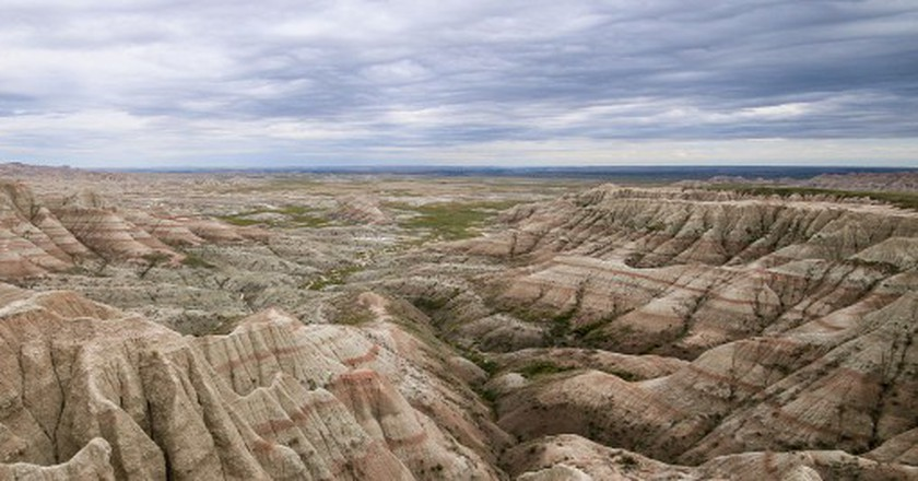 Panorama Point, Badlands National Park | © Martin Kraft/Wikicommons