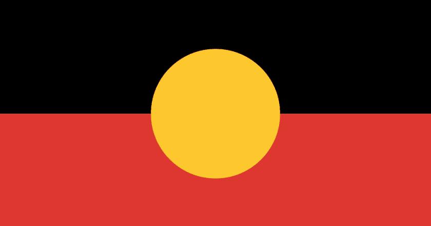 Australian Aboriginal Flag | © Harold Thomas / WikiCommons