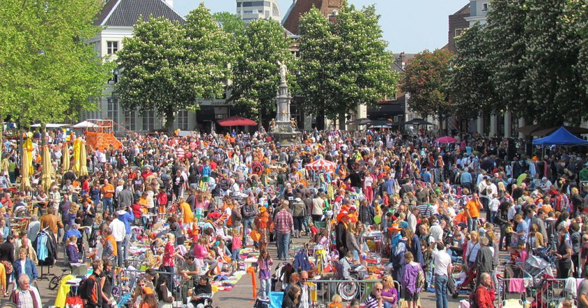 Vrijmarkt at Deventer | © Apdency / WikiCommons