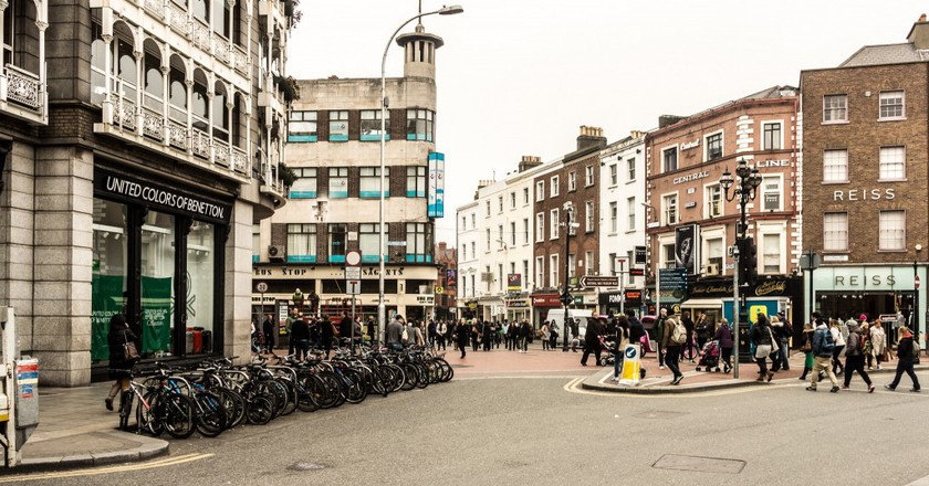 Grafton Street shopping district in Dublin | ©William Murphy/Flickr
