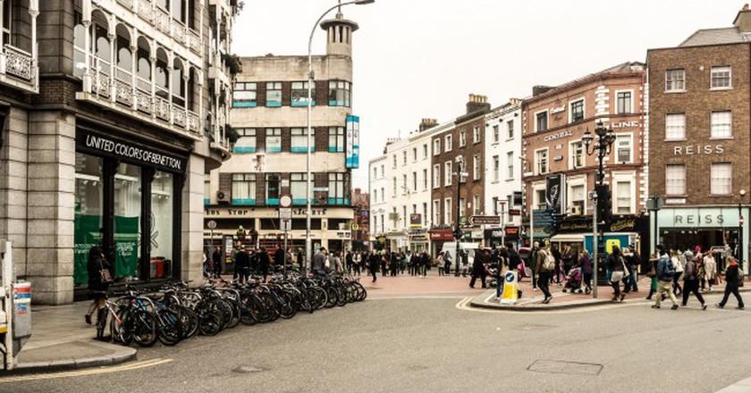 Grafton Street shopping district in Dublin   ©William Murphy/Flickr