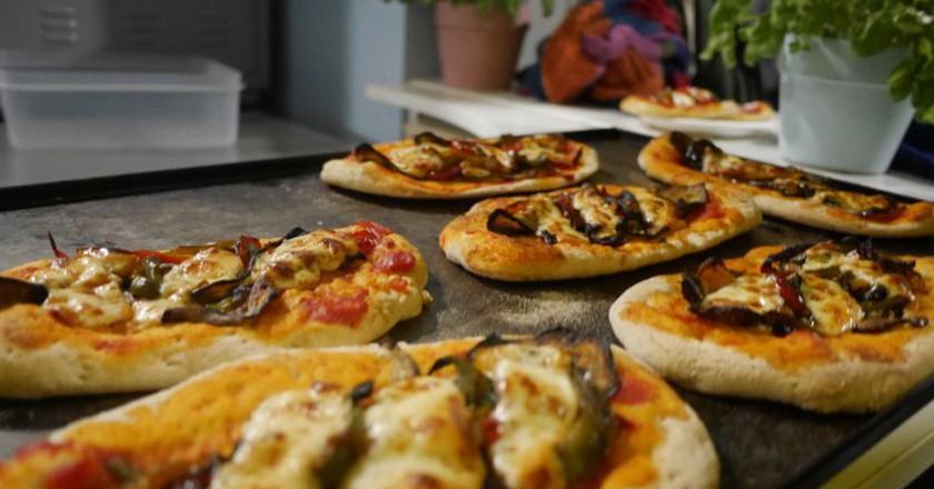 Pizza at Foodhallen